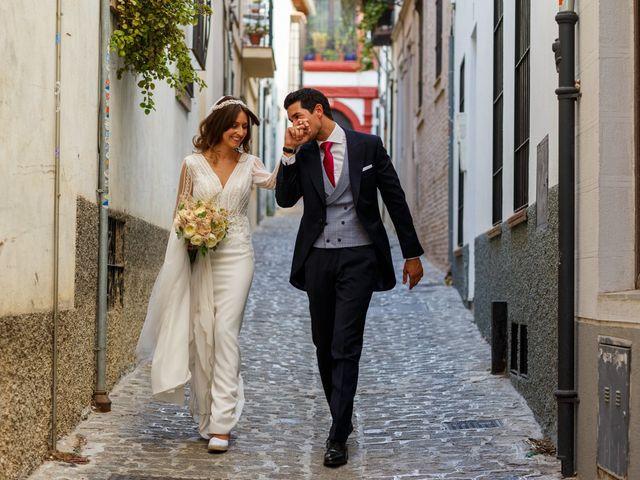 La boda de Juan y Virginia en Fuente Vaqueros, Granada 60