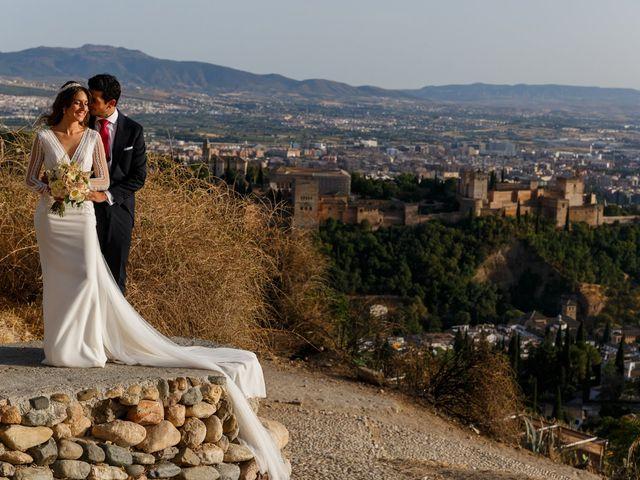 La boda de Juan y Virginia en Fuente Vaqueros, Granada 69