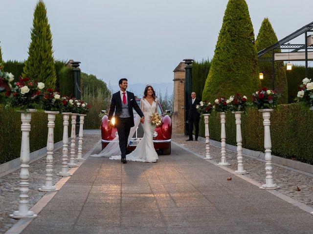 La boda de Juan y Virginia en Fuente Vaqueros, Granada 77