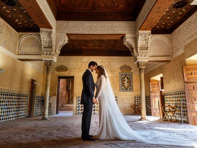 La boda de Juan y Virginia en Fuente Vaqueros, Granada 97