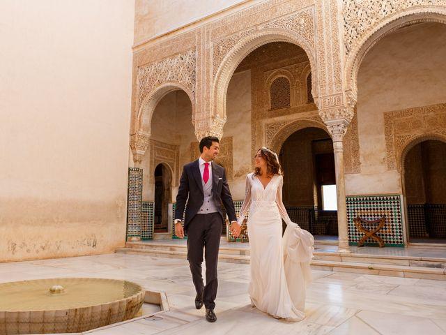La boda de Juan y Virginia en Fuente Vaqueros, Granada 99