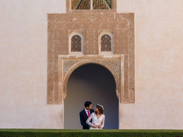 La boda de Juan y Virginia en Fuente Vaqueros, Granada 105