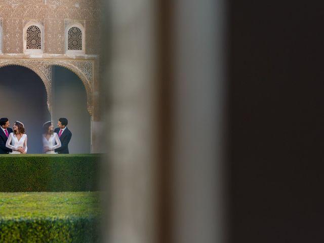 La boda de Juan y Virginia en Fuente Vaqueros, Granada 107