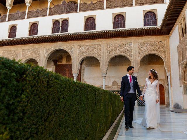 La boda de Juan y Virginia en Fuente Vaqueros, Granada 111