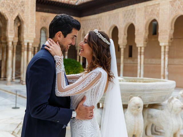 La boda de Juan y Virginia en Fuente Vaqueros, Granada 112