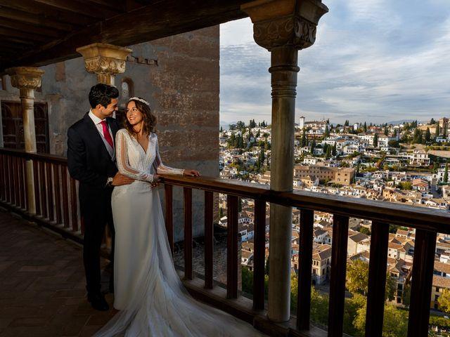 La boda de Juan y Virginia en Fuente Vaqueros, Granada 114