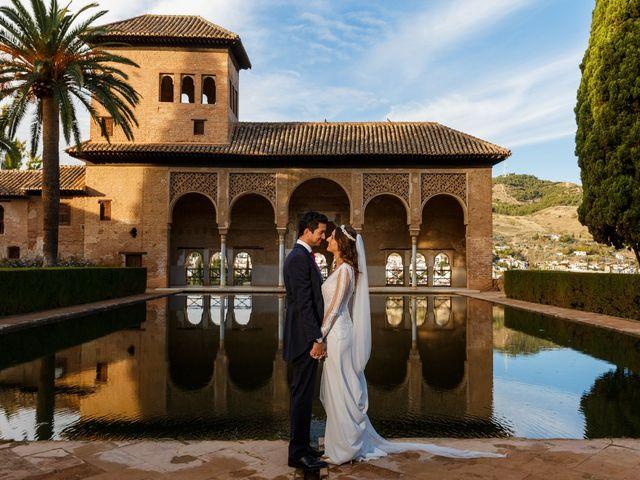 La boda de Juan y Virginia en Fuente Vaqueros, Granada 118