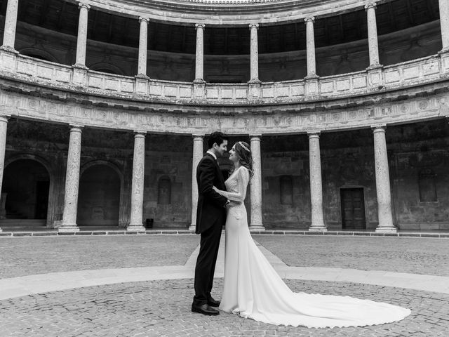 La boda de Juan y Virginia en Fuente Vaqueros, Granada 123