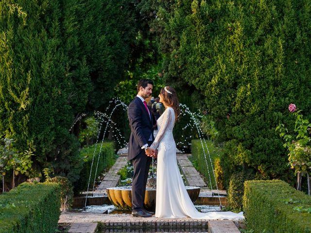 La boda de Juan y Virginia en Fuente Vaqueros, Granada 125