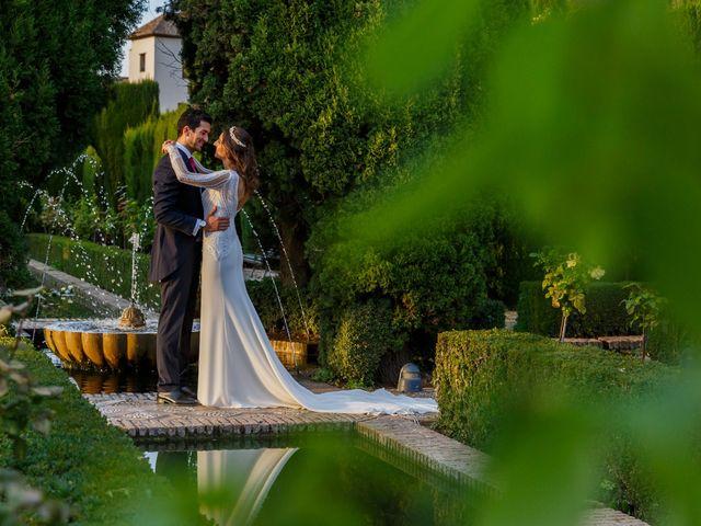 La boda de Juan y Virginia en Fuente Vaqueros, Granada 127