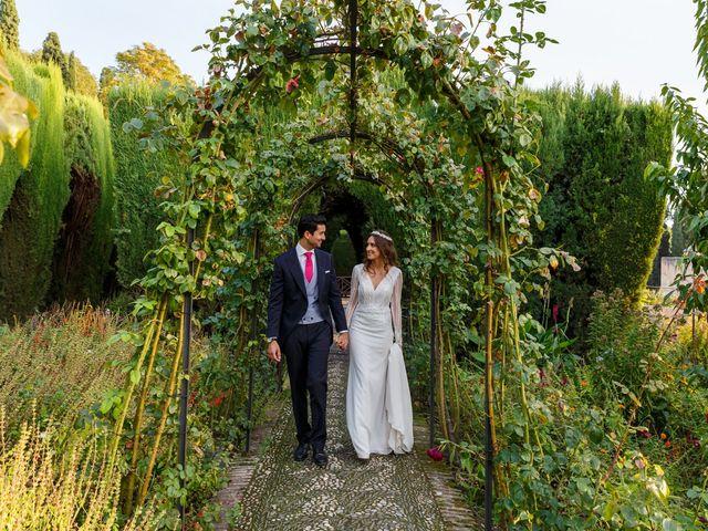 La boda de Juan y Virginia en Fuente Vaqueros, Granada 130