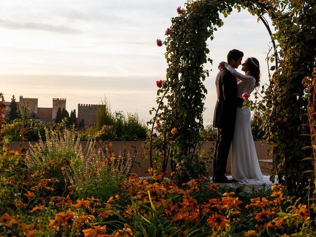 La boda de Juan y Virginia en Fuente Vaqueros, Granada 135