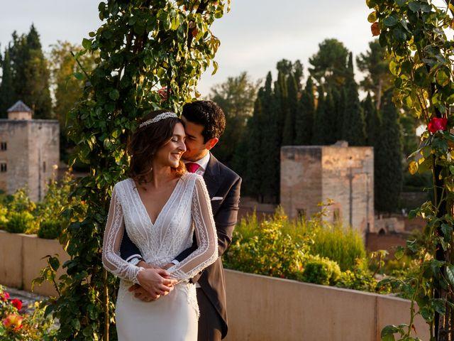 La boda de Juan y Virginia en Fuente Vaqueros, Granada 136