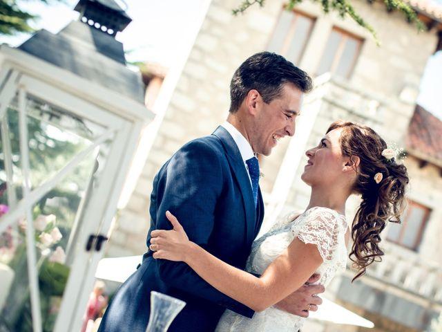 La boda de David y Cristina en Torrelodones, Madrid 28