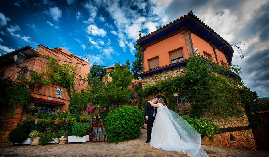 La boda de Alejandro y Lorena en Anento, Zaragoza