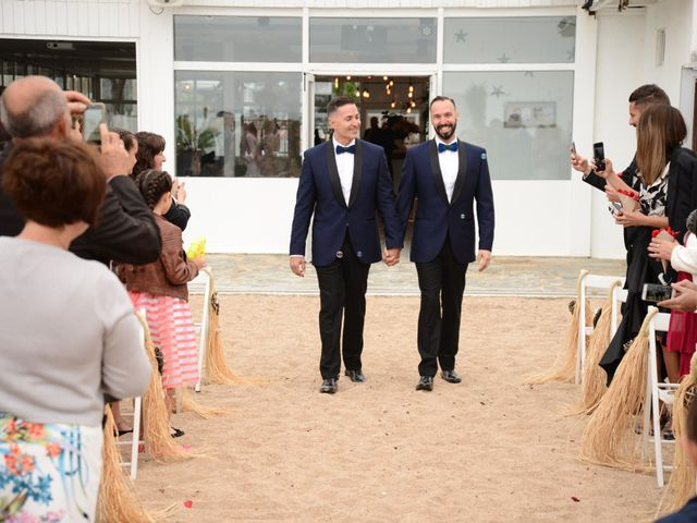 La boda de Jose y Carlos en Malgrat De Mar, Barcelona 42