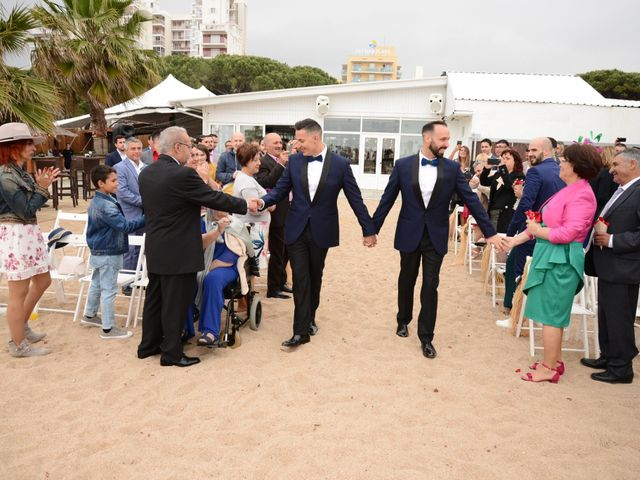 La boda de Jose y Carlos en Malgrat De Mar, Barcelona 44