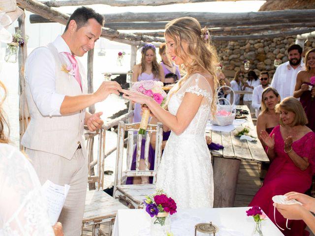 La boda de Iván y Katherine en Eivissa, Islas Baleares 30