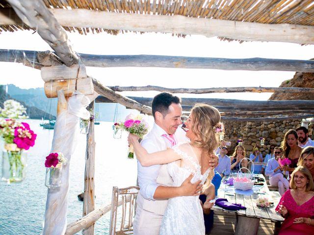 La boda de Iván y Katherine en Eivissa, Islas Baleares 34