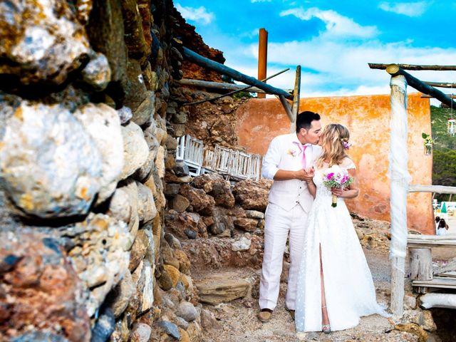 La boda de Iván y Katherine en Eivissa, Islas Baleares 38