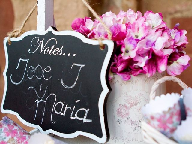La boda de  José  y María  en Andujar, Jaén 17