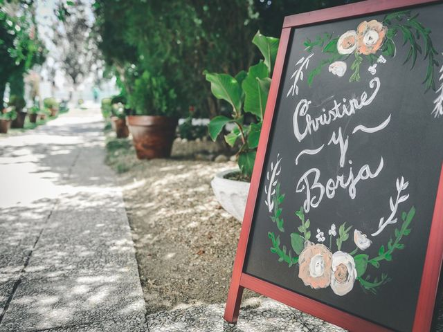 La boda de Christine y Borja