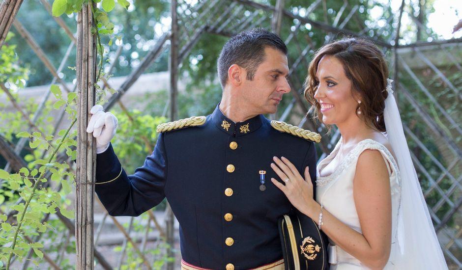 La boda de  José  y María  en Andujar, Jaén