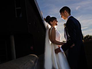 La boda de Estela y David