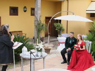 La boda de Esmeralda y Liaxunder