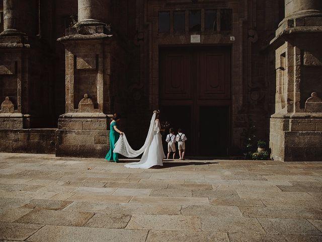 La boda de Samuel y Raquel en Santiago De Compostela, A Coruña 16