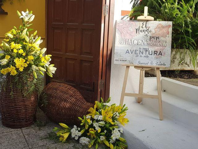 La boda de Samuel  y Fabiola en Tacoronte, Santa Cruz de Tenerife 17