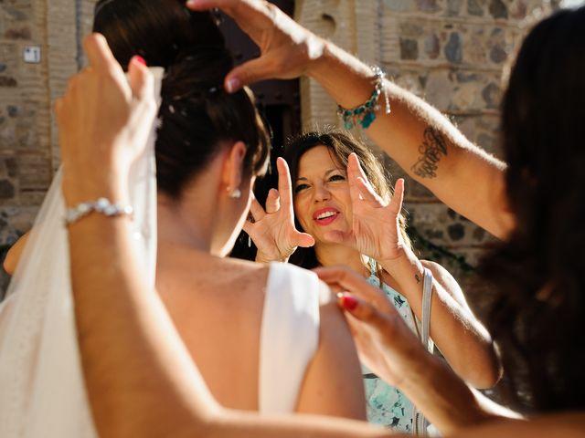 La boda de David y Estela en Toledo, Toledo 17
