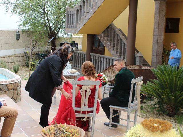 La boda de Liaxunder y Esmeralda en Vilaflor, Santa Cruz de Tenerife 1