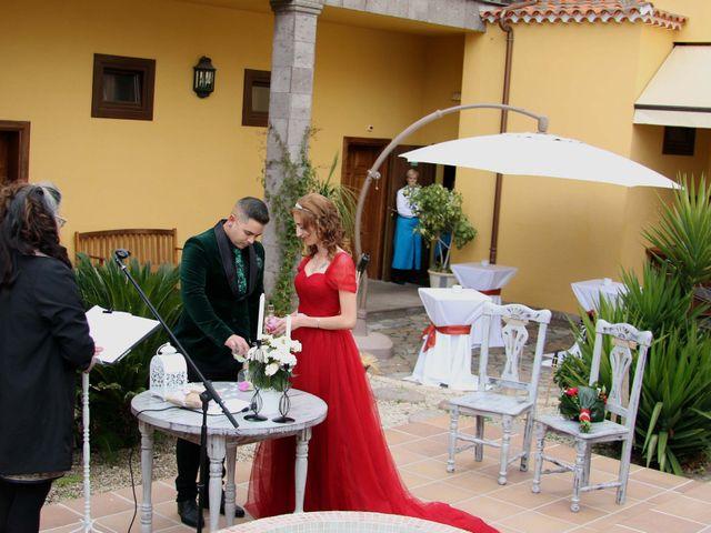 La boda de Liaxunder y Esmeralda en Vilaflor, Santa Cruz de Tenerife 2