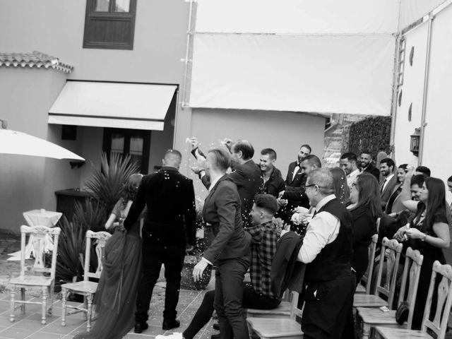 La boda de Liaxunder y Esmeralda en Vilaflor, Santa Cruz de Tenerife 3