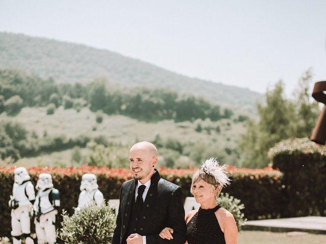 La boda de Aingeru y Laura en Quejana, Álava 33