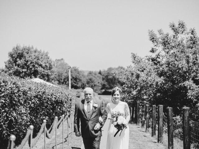 La boda de Aingeru y Laura en Quejana, Álava 34