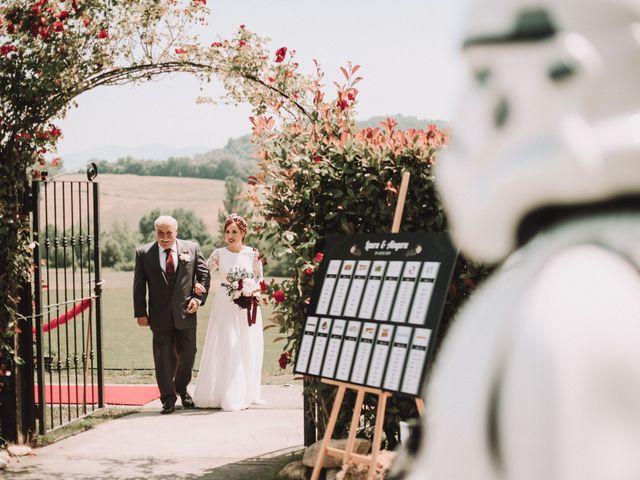 La boda de Aingeru y Laura en Quejana, Álava 35