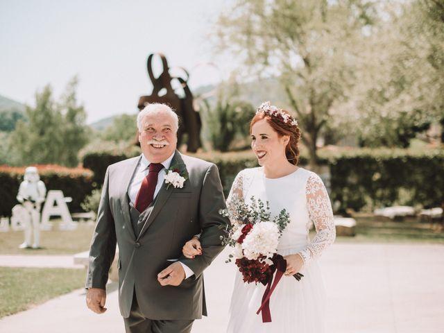 La boda de Aingeru y Laura en Quejana, Álava 36