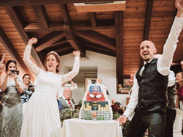 La boda de Aingeru y Laura en Quejana, Álava 70