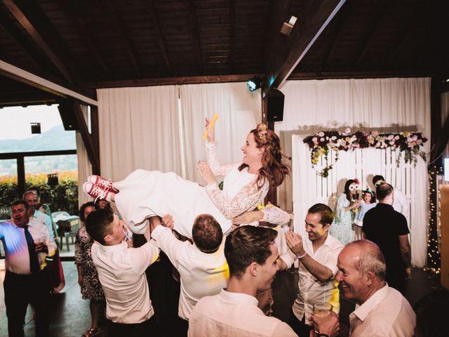 La boda de Aingeru y Laura en Quejana, Álava 103