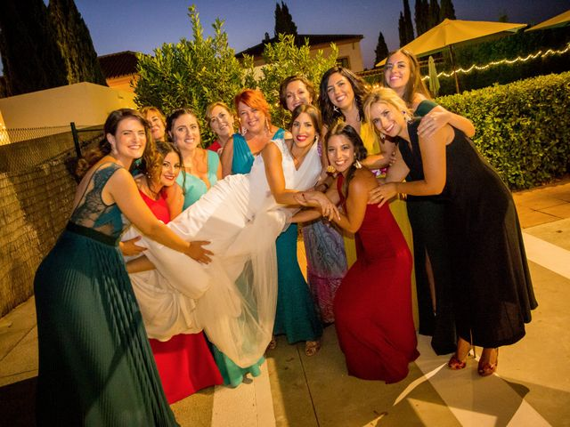 La boda de Luis y Marta en Castellar De La Frontera, Cádiz 42