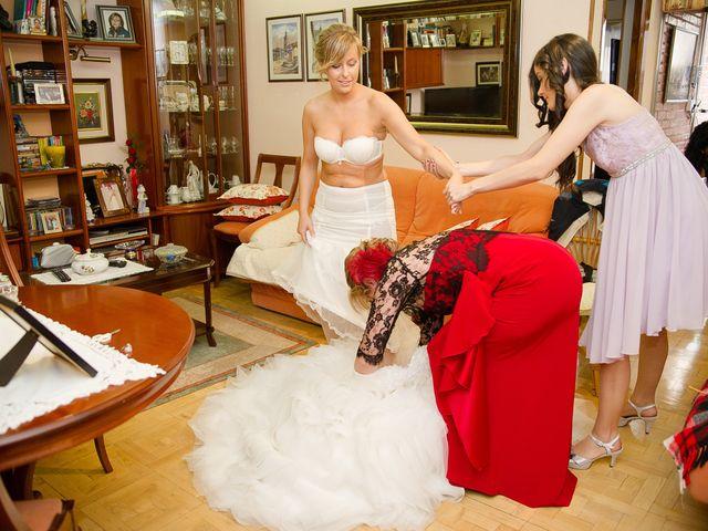 La boda de Abilio y María en Autillo De Campos, Palencia 13