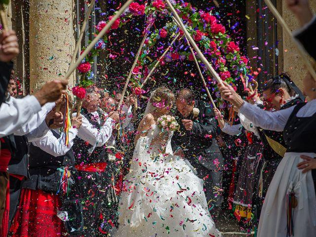 La boda de Abilio y María en Autillo De Campos, Palencia 46