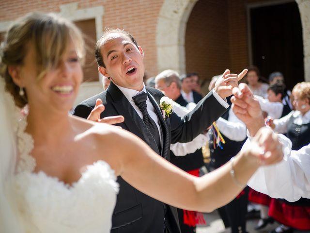 La boda de Abilio y María en Autillo De Campos, Palencia 49