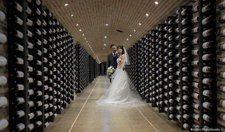 La boda de David y Nuria en Loeches, Madrid