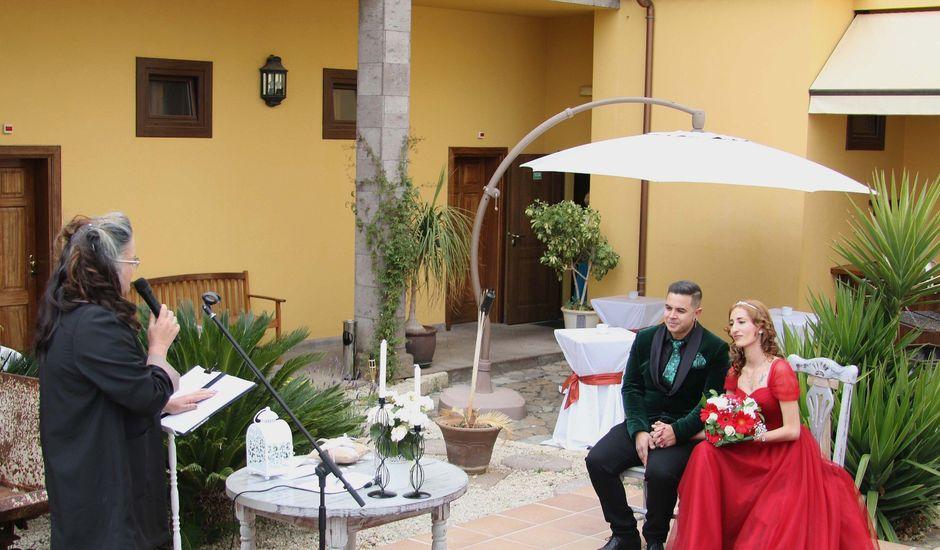 La boda de Liaxunder y Esmeralda en Vilaflor, Santa Cruz de Tenerife