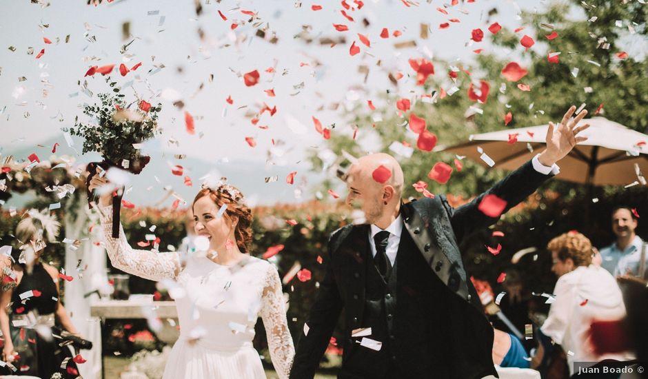 La boda de Aingeru y Laura en Quejana, Álava