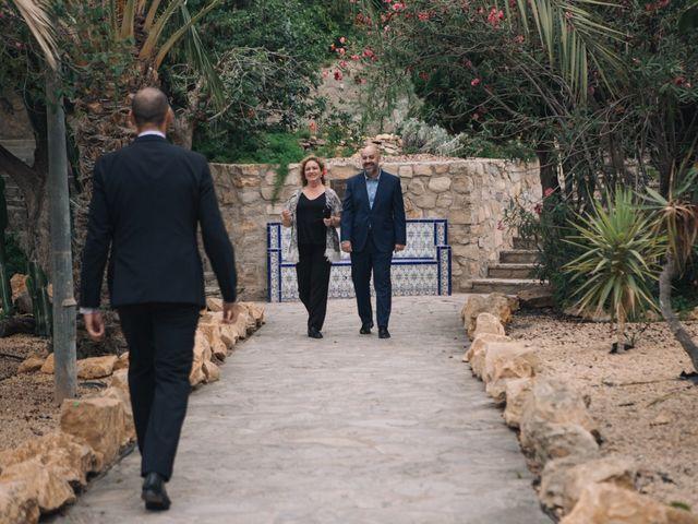 La boda de Miguel y Sine en La/villajoyosa Vila Joiosa, Alicante 20