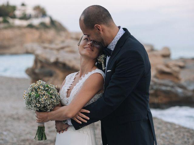 La boda de Miguel y Sine en La/villajoyosa Vila Joiosa, Alicante 38